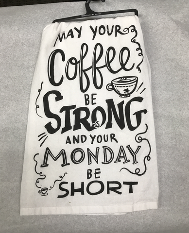 Strong Coffee Towel