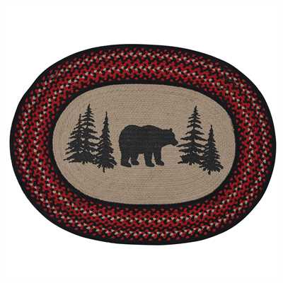 Bear Braided Rug