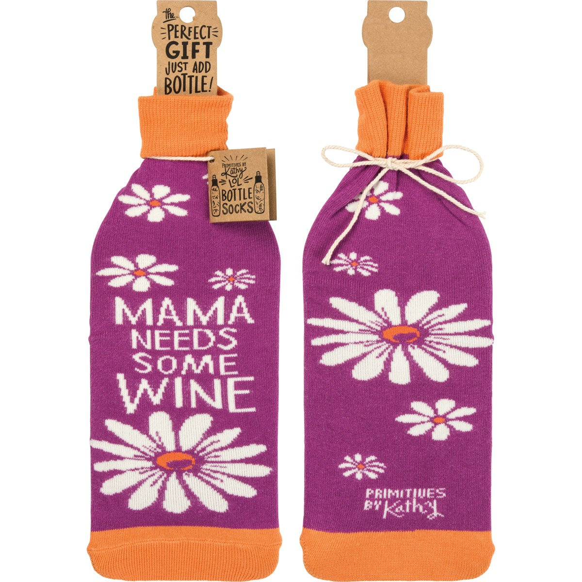 Bottle Sock - Mama Needs Some Wine
