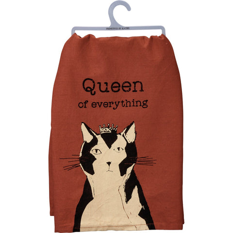 Dish Towel - Queen Of Everything