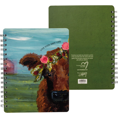Spiral Notebook - Live Your Best Life
