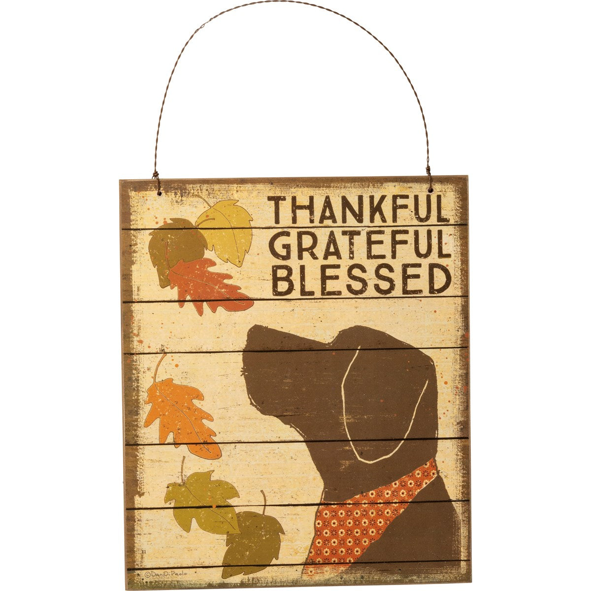 Hanging Decor- Blessed Dog