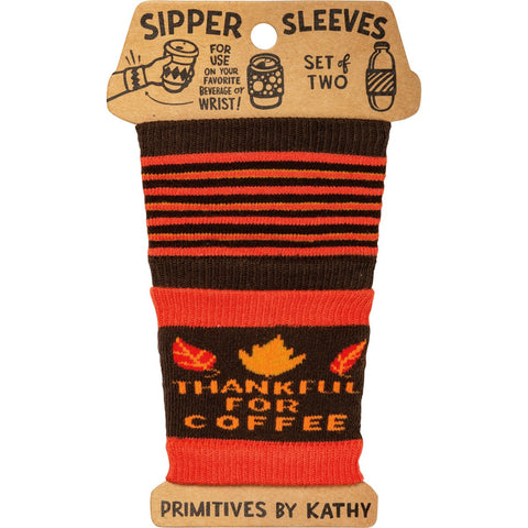Sipper Sleeves - Thankful For Coffee