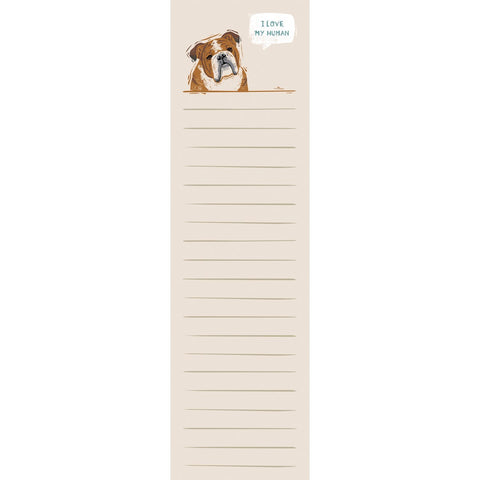 List Notepad - Bulldog