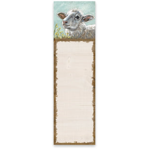 List Notepad - Sheep