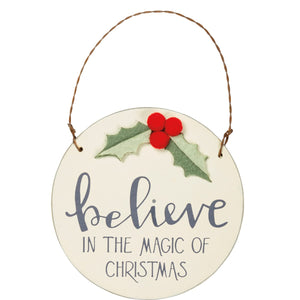 Ornament - Believe In The Magic Of Christmas