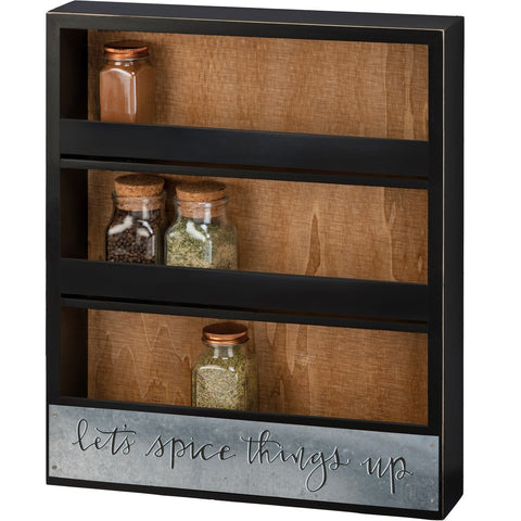 Spice Rack - Let's Spice Things Up