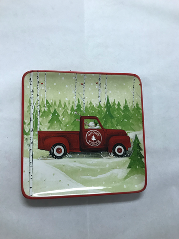 Christmas Truck Plates