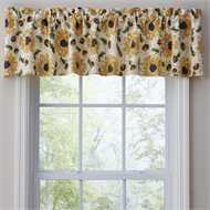 Rustic Sunflower Valance