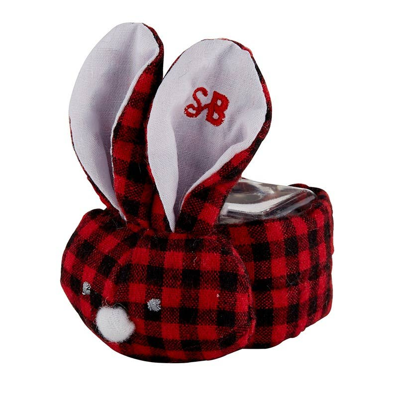 Red/Black Gingham Boo-bunnie