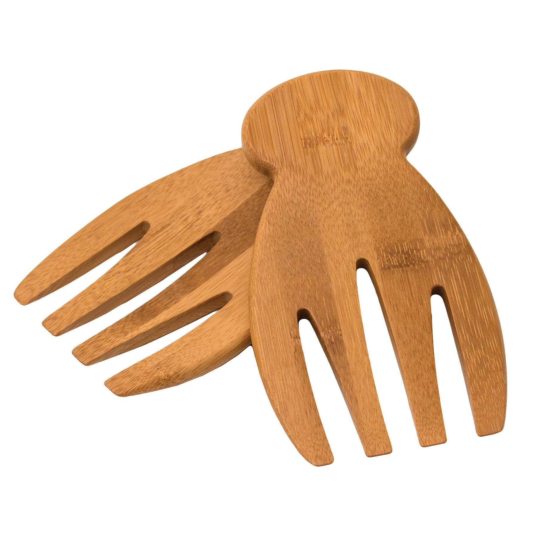 Natural Bamboo Salad Hands
