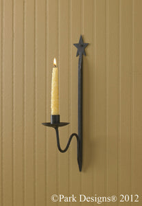 SINGLE STAR SCONCE