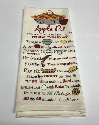 Apple Pie Dish Towel