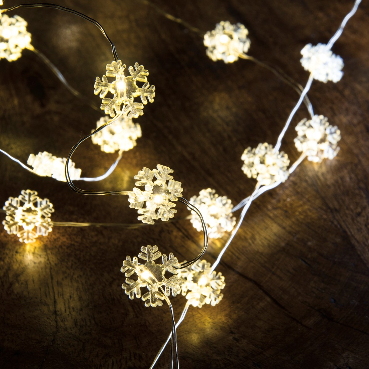 Wire Lights - Snowflake 20L