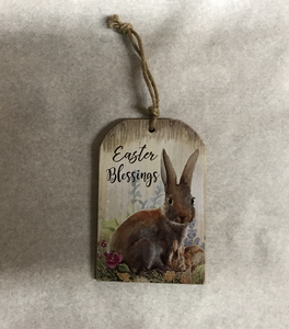 Easter Blessings Hanger