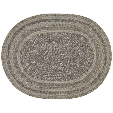 HARTWICK BRAIDED OVAL RUG