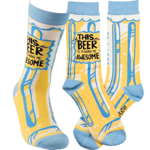 Socks - This Beer Is Making Me Awesome