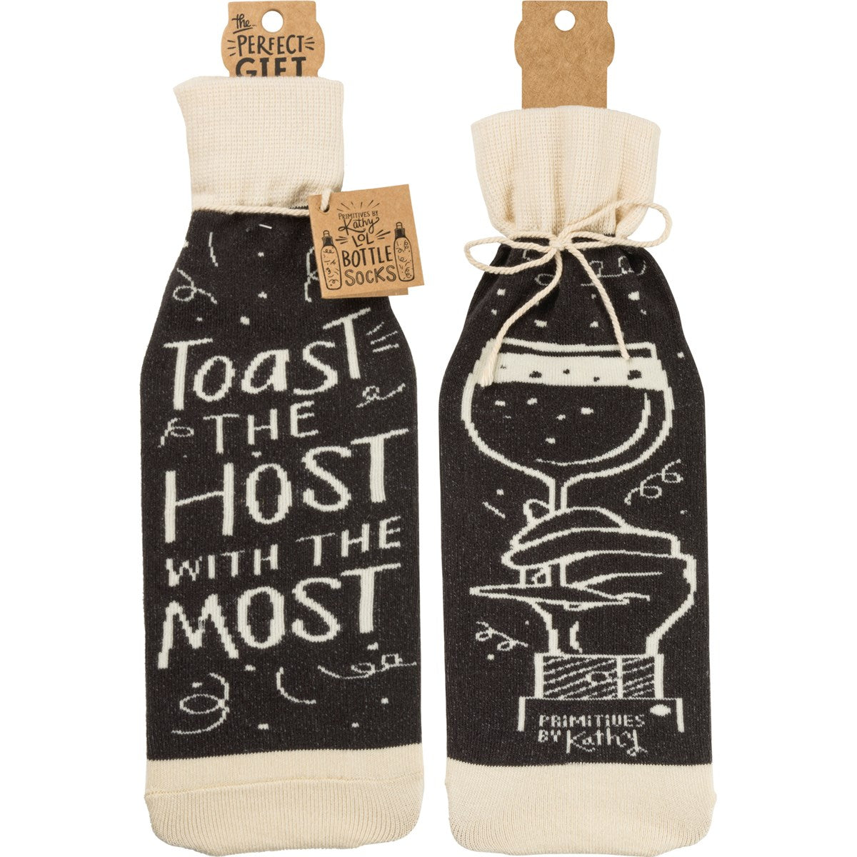 Bottle Sock -Toast The Host With The Most