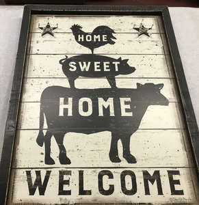 Home Sweet Home frame