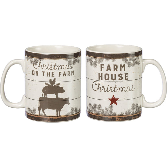 Mug- Christmas On The Farm