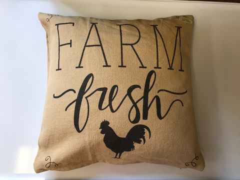 Farm Fresh Pillow