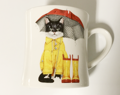 Cat And Boots Coffee Mug