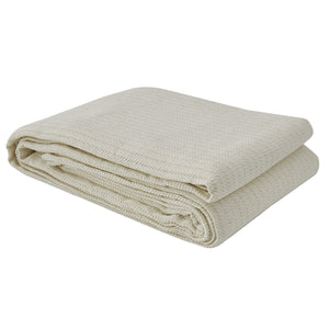 FARMINGTON QUEEN BEDSPREAD - CREAM