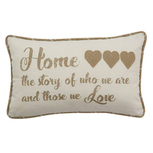 HOME STORY PILLOW POLYESTER INSERT