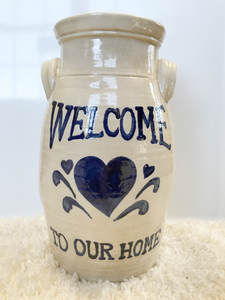 Welcome to Our Home Jug