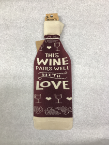 Wine Love Bottle Sock