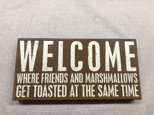 Toasted Marshmallow Sign