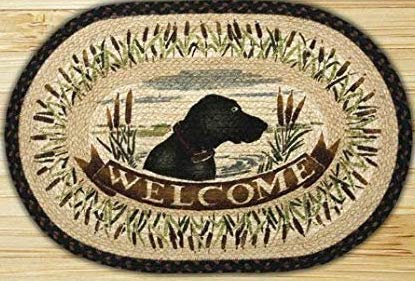 Welcome Rug W/ Dog