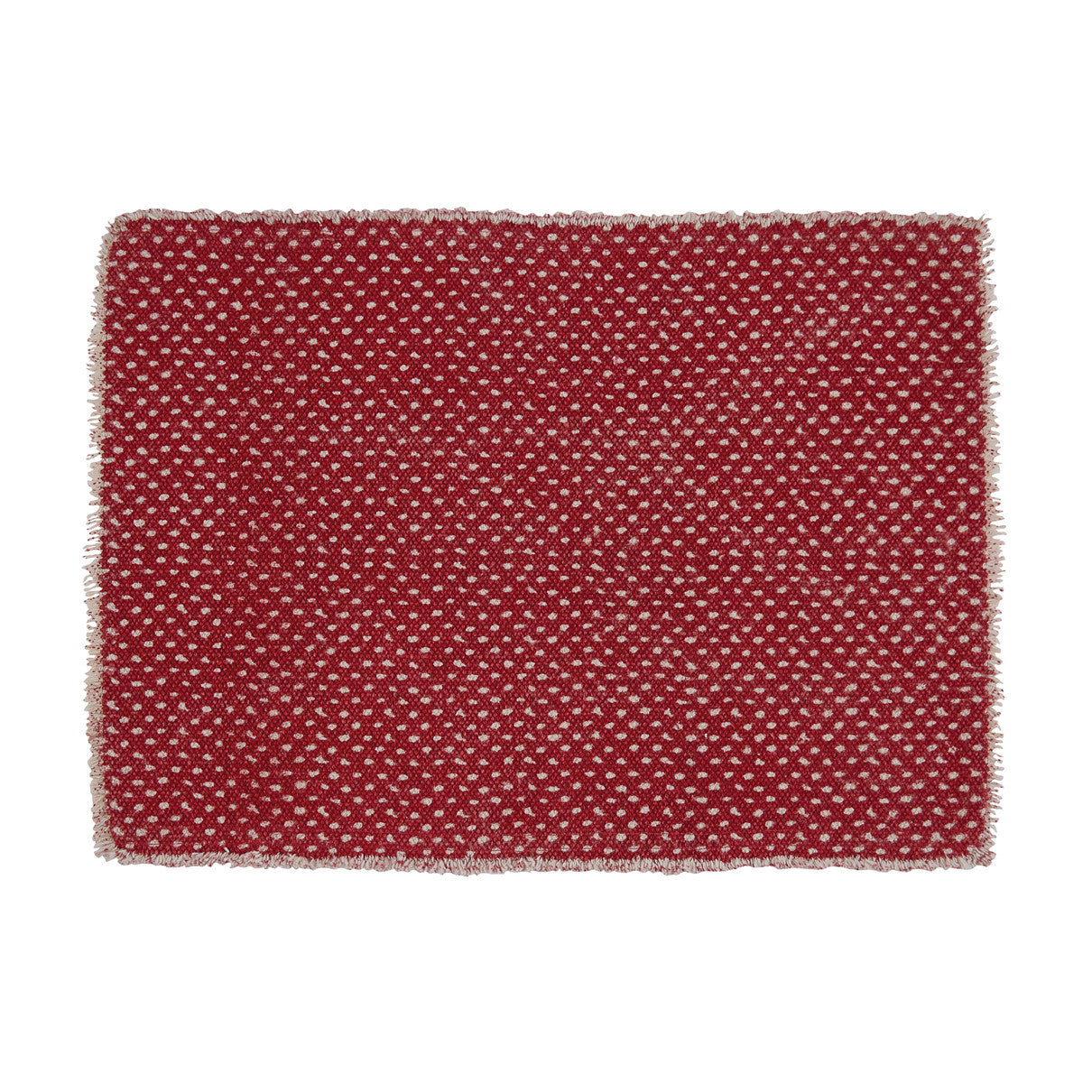 MINI DOTS PRINT PLACEMAT - RED