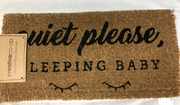 Quiet Please floor Mat