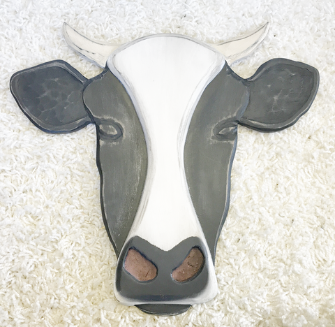 Hanging Wall Decor Cow