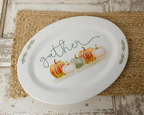 Serving Plate, Gather