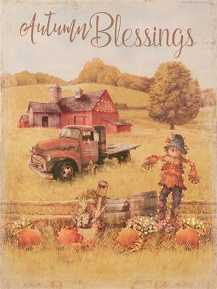Autumn Blessings Canvas