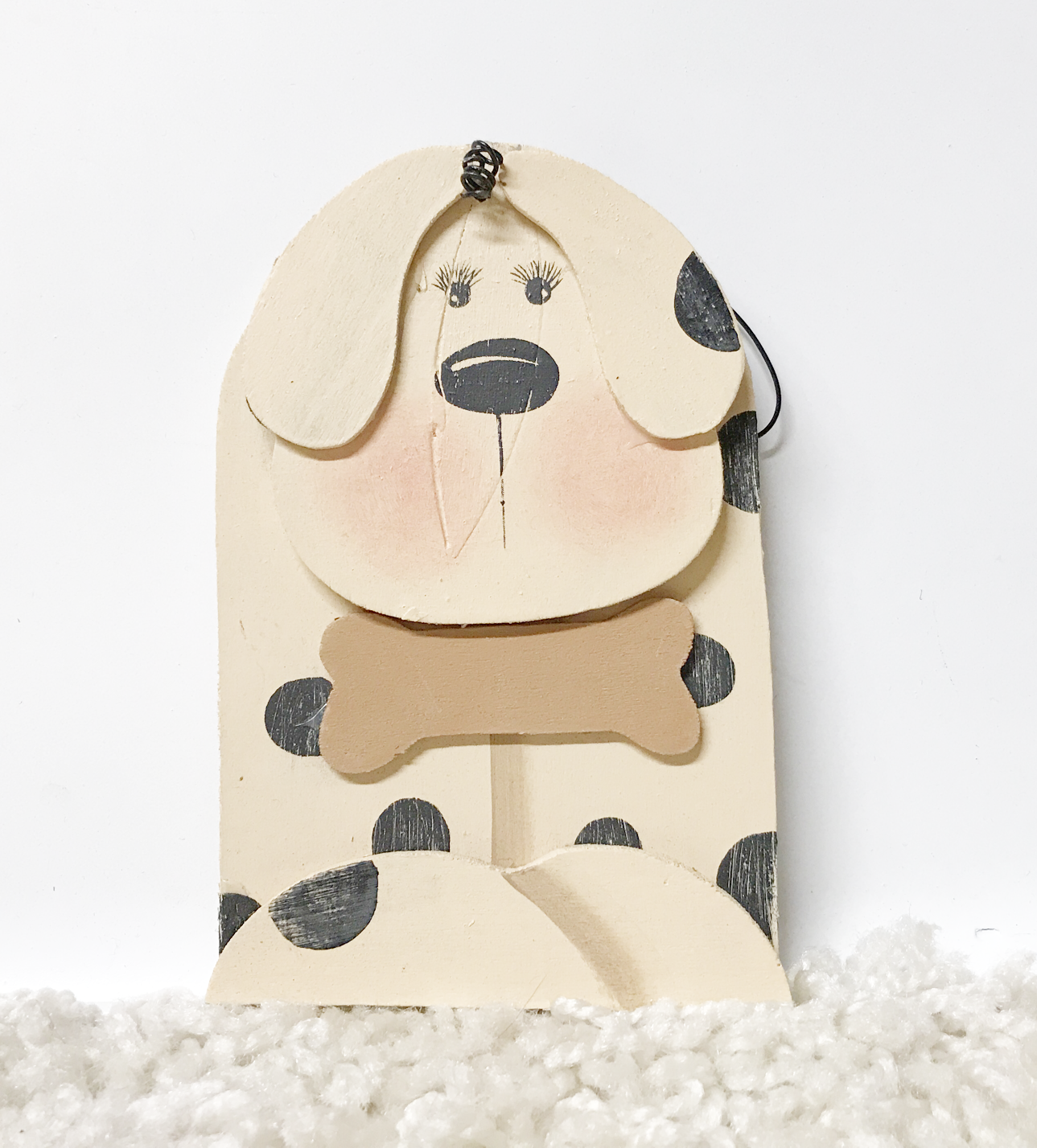 Spotted Dog Ornament