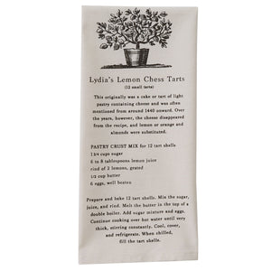 Lemon Chess Tart Dish Towel