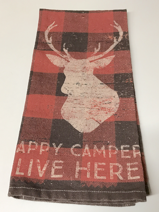 Happy Campers Hand Towel