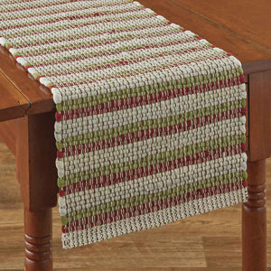 "VINTAGE HOMETOWN CHINDI TABLE RUNNER - 36""L"