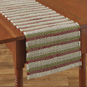 "VINTAGE HOMETOWN CHINDI TABLE RUNNER - 54""L"