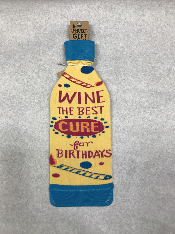 Birthday Bottle Sock