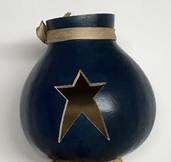 Star Gourd Tea Lite Holder
