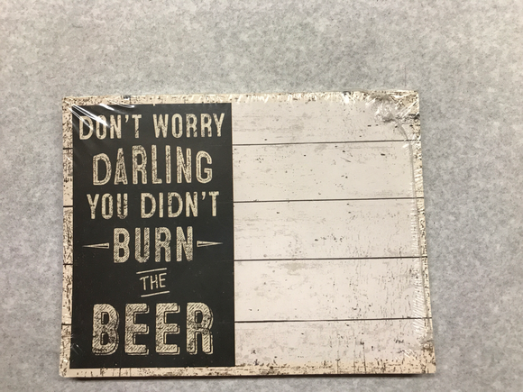 Burn The Beer Notepad