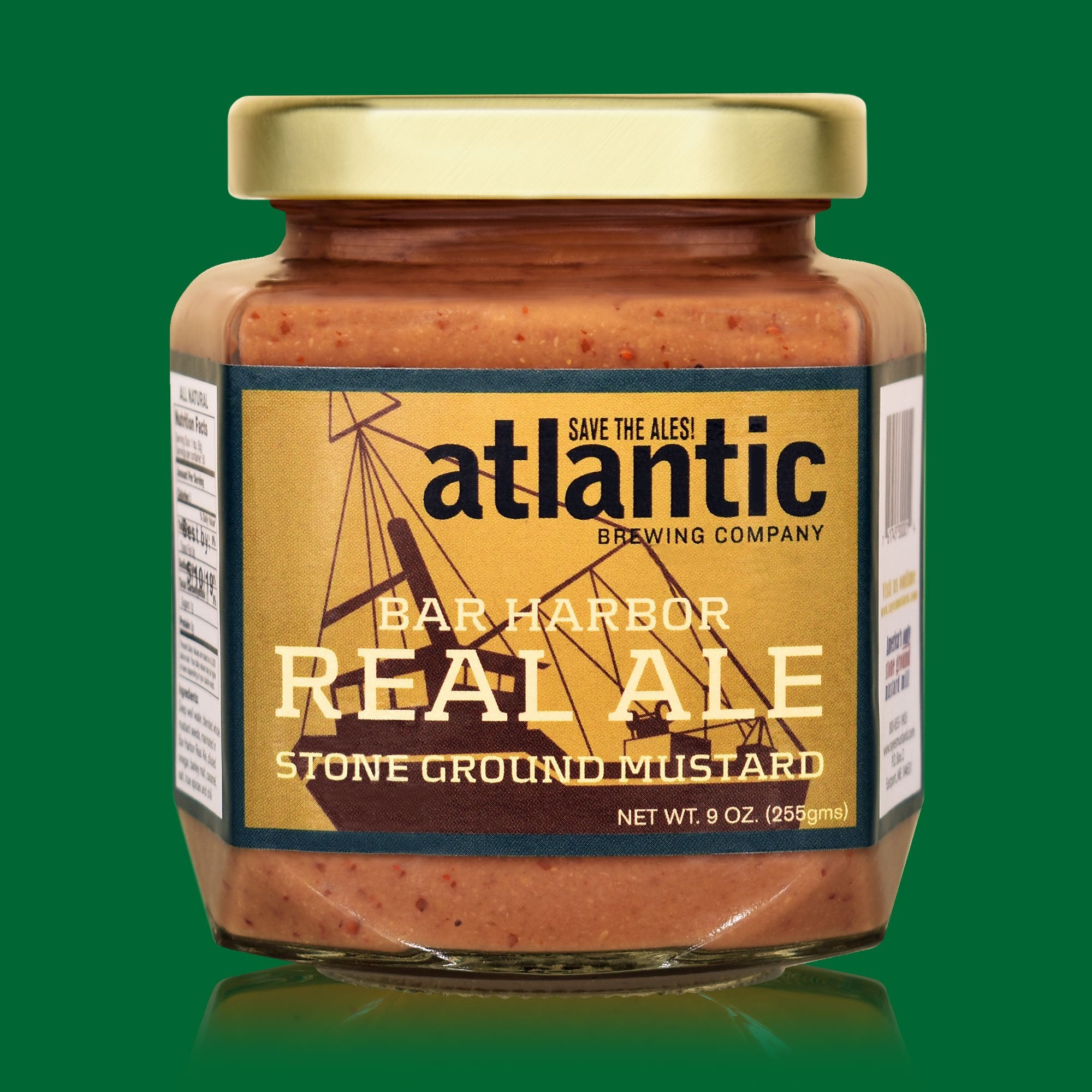 Raye's Mustard: Bar Harbor Real Ale