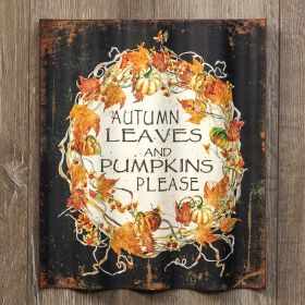 Autumn Leaves Sign