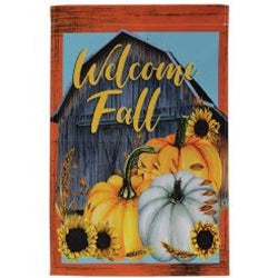 Welcome Fall Garden Flag