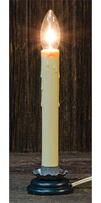 "7"" Country Candle Lamp"
