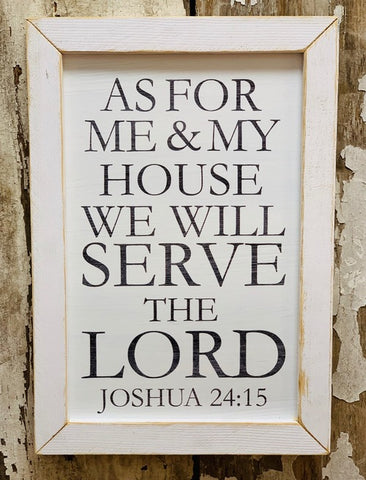 WE WILL SERVE THE LORD PICTURE